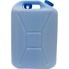 Water Carry Can - 20 Litre, Blue, , scaau_hi-res