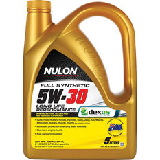 Nulon Full Synthetic Long Life Engine Oil - 5W-30 5 Litre, , scaau_hi-res