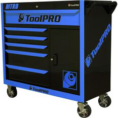 ToolPRO Neon Tool Cabinet Nitro 6 Drawer 42 Inch, , scaau_hi-res