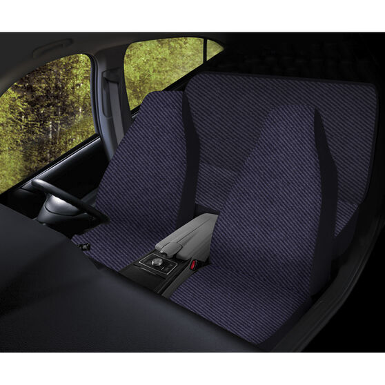 SCA Escort Seat Cover Pack - Grey, Built-In Headrests, Front Pair and Rear, Airbag Compatible, , scaau_hi-res