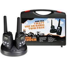 Ridge Ryder UHF CB Radio - 1W, 2 Pack, , scaau_hi-res