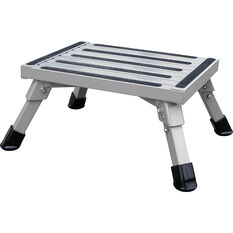 SCA Caravan Folding Step, Aluminium - Medium, , scaau_hi-res