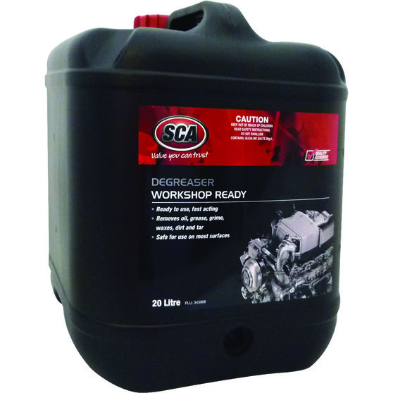 SCA Workshop Ready Degreaser - 20 Litre, , scaau_hi-res