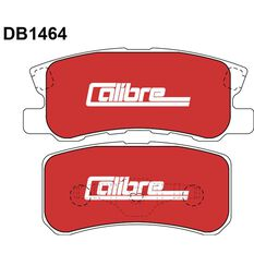Calibre Disc Brake Pads DB1464CAL, , scaau_hi-res