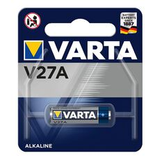 Varta Lithium Coin Battery - V27A, 1 Pack, , scaau_hi-res