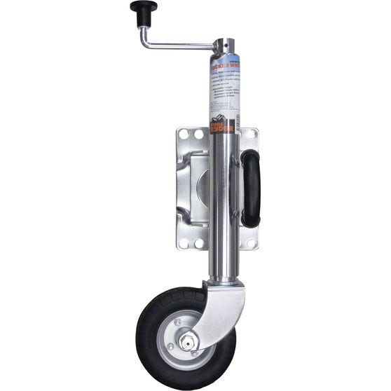 Ridge Ryder Swing Jockey Wheel - 6 inch, Chrome, , scaau_hi-res