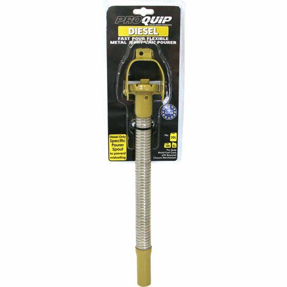 Pro Quip Metal Can Pourer, Flexi, Diesel, , scaau_hi-res