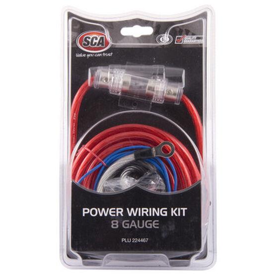 SCA Power Wiring Kit - 8G, , scaau_hi-res