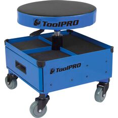 ToolPRO Roller Seat and Drawers - Blue, , scaau_hi-res