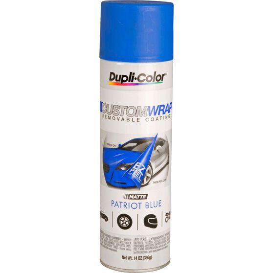 Dupli-Color Aerosol Paint Custom Wrap - Matte Patriot Blue, 396g, , scaau_hi-res
