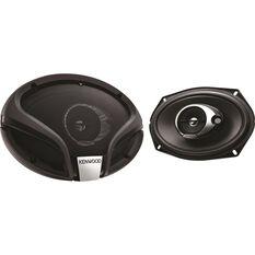 Kenwood 6 inch x 9 inch 3 Way Speakers - KFC-M6934A, , scaau_hi-res