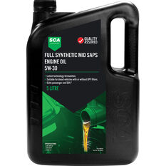 SCA Full Synthetic Engine Oil C3 5W-30 5 Litre, , scaau_hi-res
