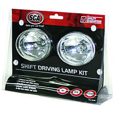 Driving Light Kit - 55W, Shift, 80mm, Oval, 2 Pack, , scaau_hi-res