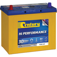 Century Hi Performance Car Battery NS60 MF, , scaau_hi-res
