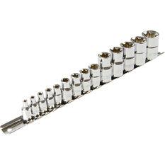 ToolPRO Socket Rail Set - E-Torx, 14 Piece, , scaau_hi-res