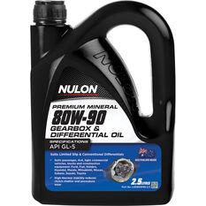 Nulon Gear Oil 80W-90 2.5 Litre, , scaau_hi-res