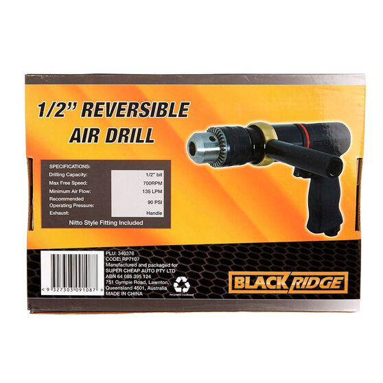 "Blackridge Air Drill - 1/2"" Drive, , scaau_hi-res"
