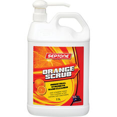Septone Orange Scrub Hand Cleaner - 2.5 Litre, , scaau_hi-res
