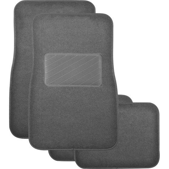 SCA Premier Plus Floor Mats - Carpet, Charcoal, Set of 4, , scaau_hi-res