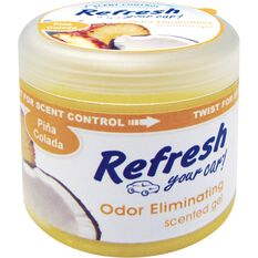 Refresh Gel Air Freshener - Pina Colada, 128g, , scaau_hi-res