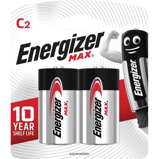Energizer Max C Batteries - 2 Pack, , scaau_hi-res