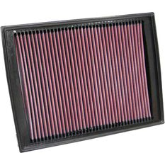 K&N Air Filter - 33-2333 (Interchangeable with A1603), , scaau_hi-res