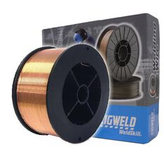 Cigweld Solid Mig Welding Wire Mini Spool - 0.9kg,  0.6mm, , scaau_hi-res