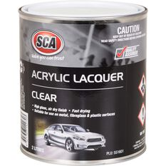SCA Acrylic Paint - Clear, 2 Litre, , scaau_hi-res