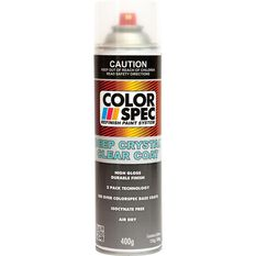 ColorSpec Deep Crystal Aerosol Paint - Clear Coat, 400g, , scaau_hi-res