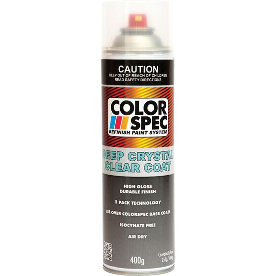 ColorSpec Deep Crystal Aerosol Paint - Clear Coat, 400g, , scaau_hi-res