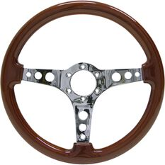 Logano Wood Steering Wheel, , scaau_hi-res