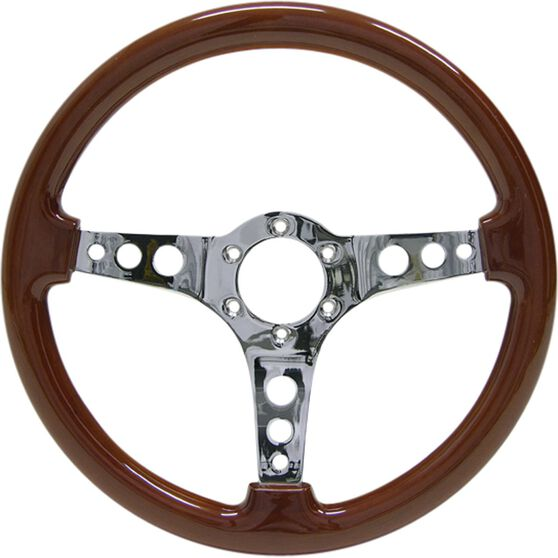 Logano Wood Steering Wheel, , scaau_hi-res