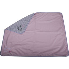 Cabin Crew Kids Travel Blanket - Pink & Grey, , scaau_hi-res
