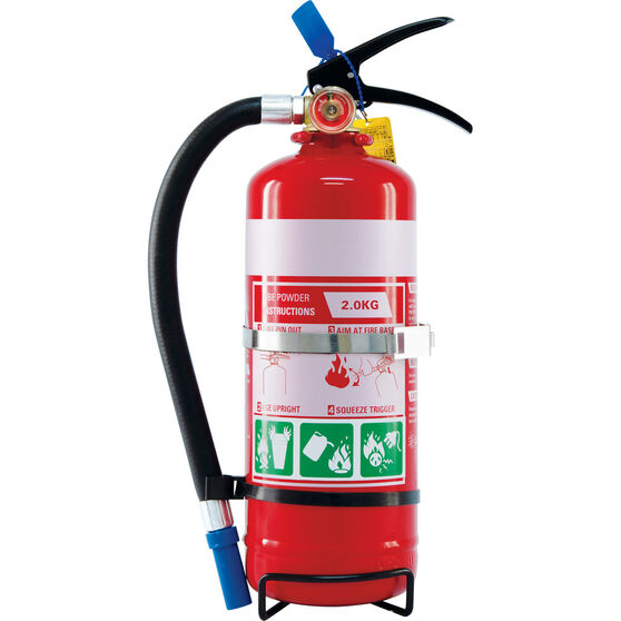 SCA Fire Extinguisher 2kg With Hose, Metal Mounting Bracket, , scaau_hi-res