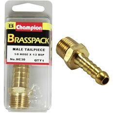 Champion Male Hose Barb - 5 / 8inch X 1 / 2inch, Brass, , scaau_hi-res