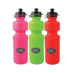 SCA Drink Bottle - Plastic, 750mL, Assorted Colours, , scaau_hi-res