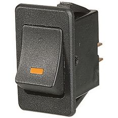 Switch - Rocker, On/Off, Amber LED, , scaau_hi-res
