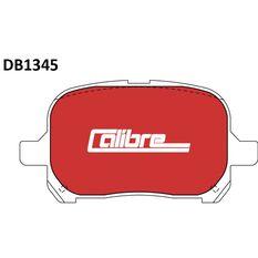 Calibre Disc Brake Pads DB1345CAL, , scaau_hi-res