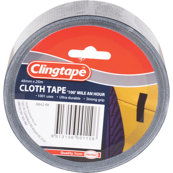 Clingtape Cloth Tape - Blue, 48mm x 25m, , scaau_hi-res
