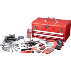 Tool Kit - 2 Drawer Chest, 230 Piece, , scaau_hi-res