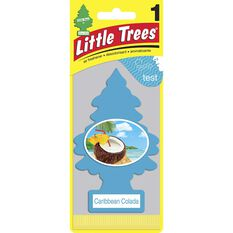 Little Trees Air Freshener - Caribbean Colada, 1 Pack, , scaau_hi-res