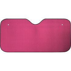 Bubble Sunshade - Matte Red, Accordion, Front, , scaau_hi-res