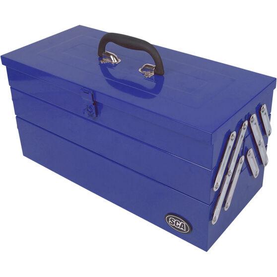 SCA Tool Box Metal Cantilever 5 Tray, , scaau_hi-res