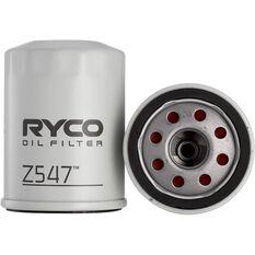 Ryco Oil Filter Z547, , scaau_hi-res