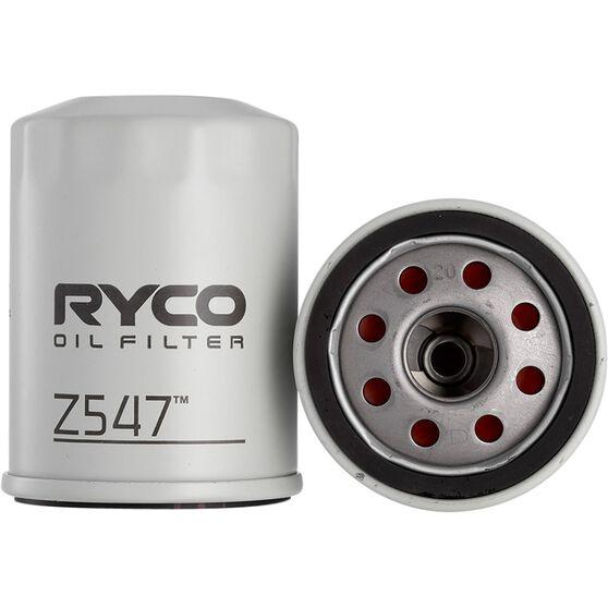 Ryco Oil Filter - Z547, , scaau_hi-res