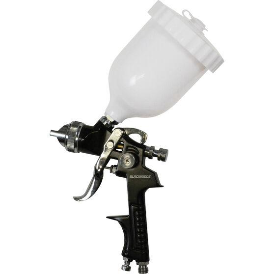 Blackridge Gravity Feed Spray Gun HVLP 600mL, , scaau_hi-res