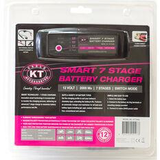 KT Battery Charger - 7 Stage, 12V, 2 Amp, , scaau_hi-res