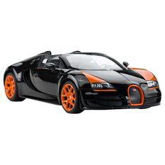 Luxury Remote Control Bugatti - 1:14 Scale Model Car, , scaau_hi-res