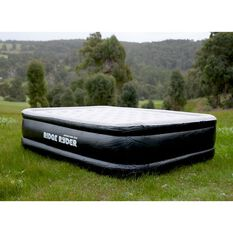Deluxe Queen Air Bed with Built In Battery Pump, , scaau_hi-res