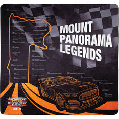 Bathurst Travel Blanket - Mount Panorama Past Legends, 1.5m x 1.5m, , scaau_hi-res